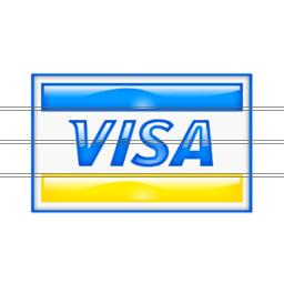 Drawing Visa Icon PNG images