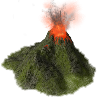 File PNG Volcano PNG images