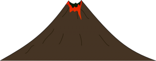 Volcano PNG Transparent PNG images