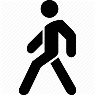 Transparent Walking Icon PNG images