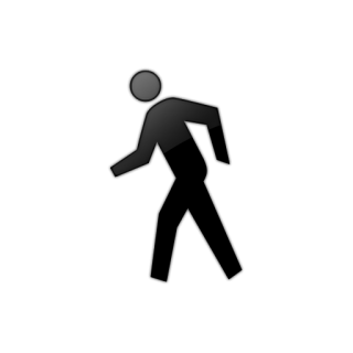 Icon Walking Vector PNG images