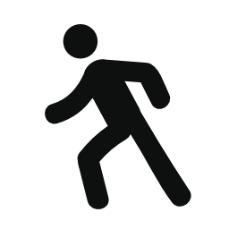 Icon Vector Walking PNG images