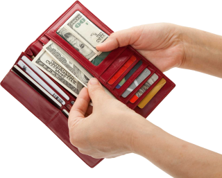 Wallet, Money, Hands Png PNG images