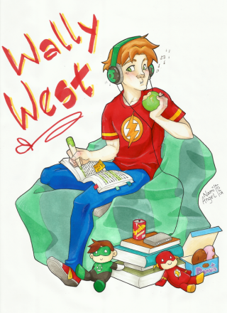 Download Free High-quality Wally West Png Transparent Images PNG images