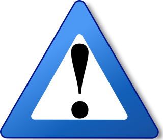 Blue Warning Icon PNG images