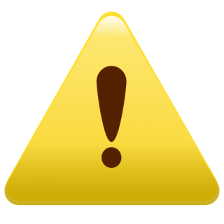 Icon Size Warning PNG images