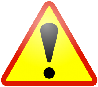 Warning Icon Red Border PNG images