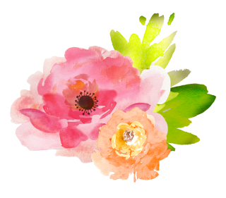 Floral Watercolor Flowers High Resolution PNG images