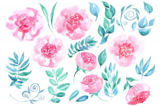 Hd Watercolor Flower Background PNG images