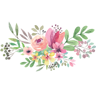 Watercolor Flowers Picture Download PNG images