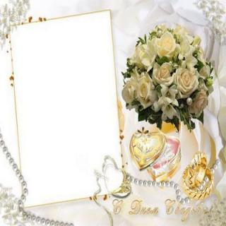 Photo Frame Wedding Png PNG images