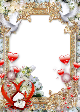 Wedding Frame Clipart PNG PNG images