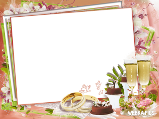 PNG Picture Wedding Frame PNG images