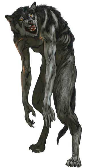 Action Figure Demon Animal Figure Wolf Werewolf Clip Art Picture PNG images