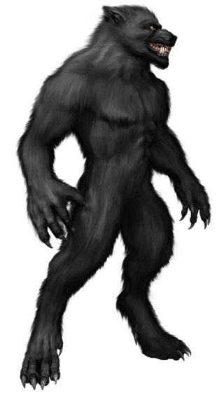 Fang Wolf Roar Jaw Art, Werewolf PNG images