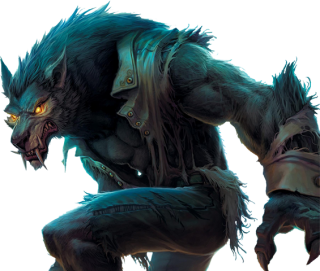 Werewolf Mythical Creature Illustration Transparent Background PNG images