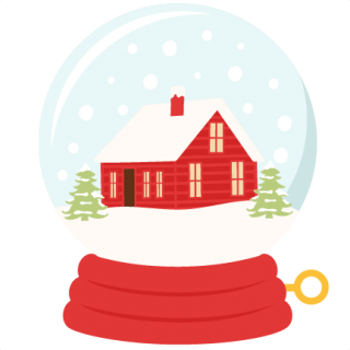 Snow Globe, Winter House Png PNG images