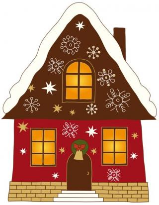 Winter House Images PNG images