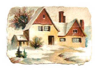 Image Winter House Transparent PNG PNG images