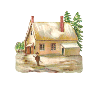 Winter House Png Picture PNG images