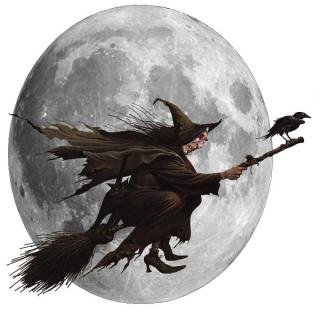 Scary, Halloween Witch Transparent Clipart PNG images