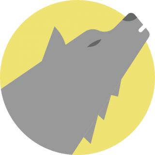 Free High-quality Wolf Icon PNG images