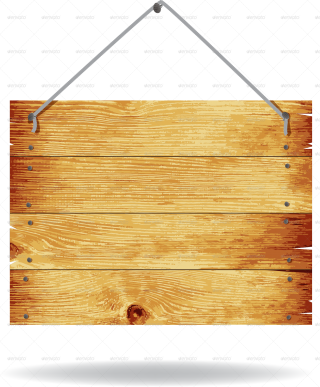Transparent Image PNG Wood Sign PNG images