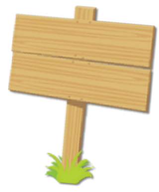 Wooden Sign No Mask PNG images