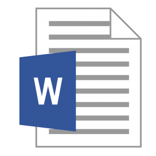 Word File Icon PNG images