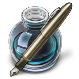 Icon Vector Writing PNG images