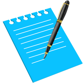 Icon Writing Transparent PNG images