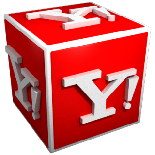 Yahoo Icon 3D PNG images