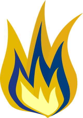 Blue And Yellow Fire Png PNG images