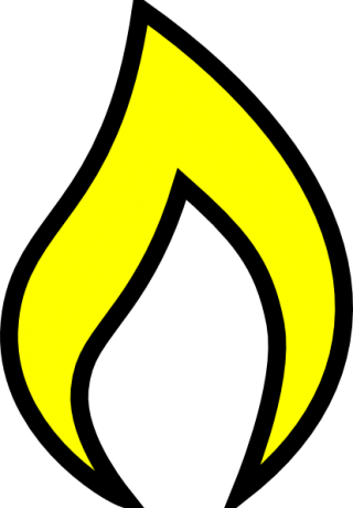 Free Yellow Fire Pictures Clipart PNG images