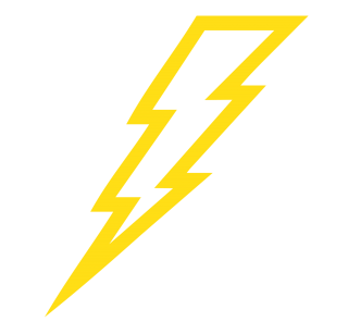 Lightning Bolt Yellow Lightning Electricity Bolt Thunder PNG images