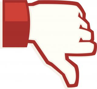 Thumbs Down, Not Like, Dislike, Youtube Icon PNG images