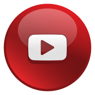 Glossy Social Youtube Icon PNG images