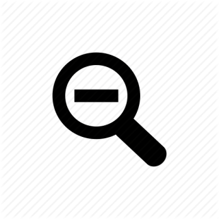 Free Icon Zoom Out PNG images