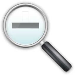 Icon Zoom Out Size PNG images