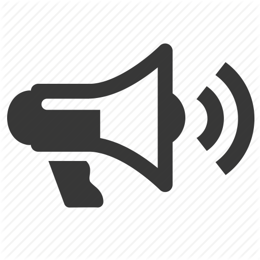 , megaphone, raw, simple, technology icon