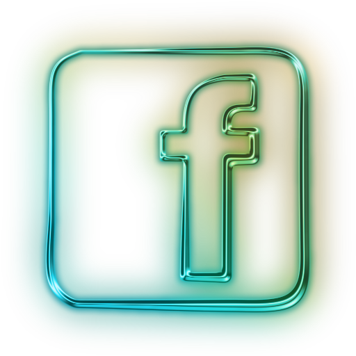 Facebook PNG Logos, green, square, icons