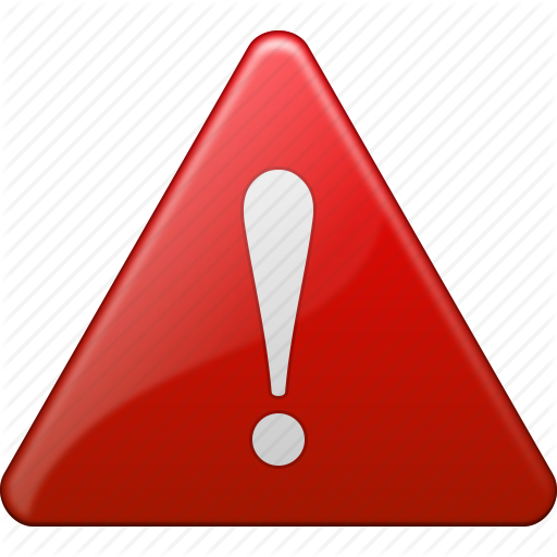 , alert, attention, danger, exclamation, safety, warning icon | Icon