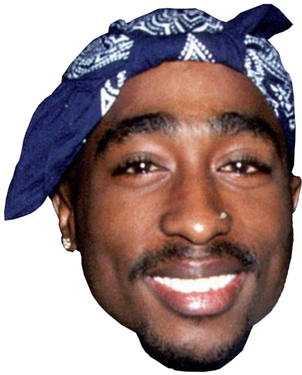 face png image in this page you can download png image tupac face png