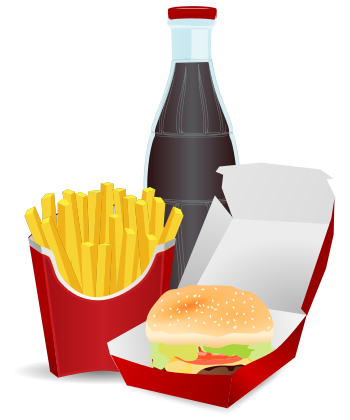Fast Food Meal  /food/meals/fast Food/hamburger Fast Food Meal Png image #41620
