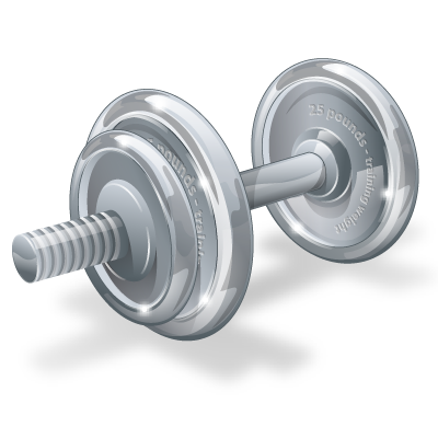 Fitness, Gym, Physical, Weight, Weightlifting, Weights Icon | Icon image #282