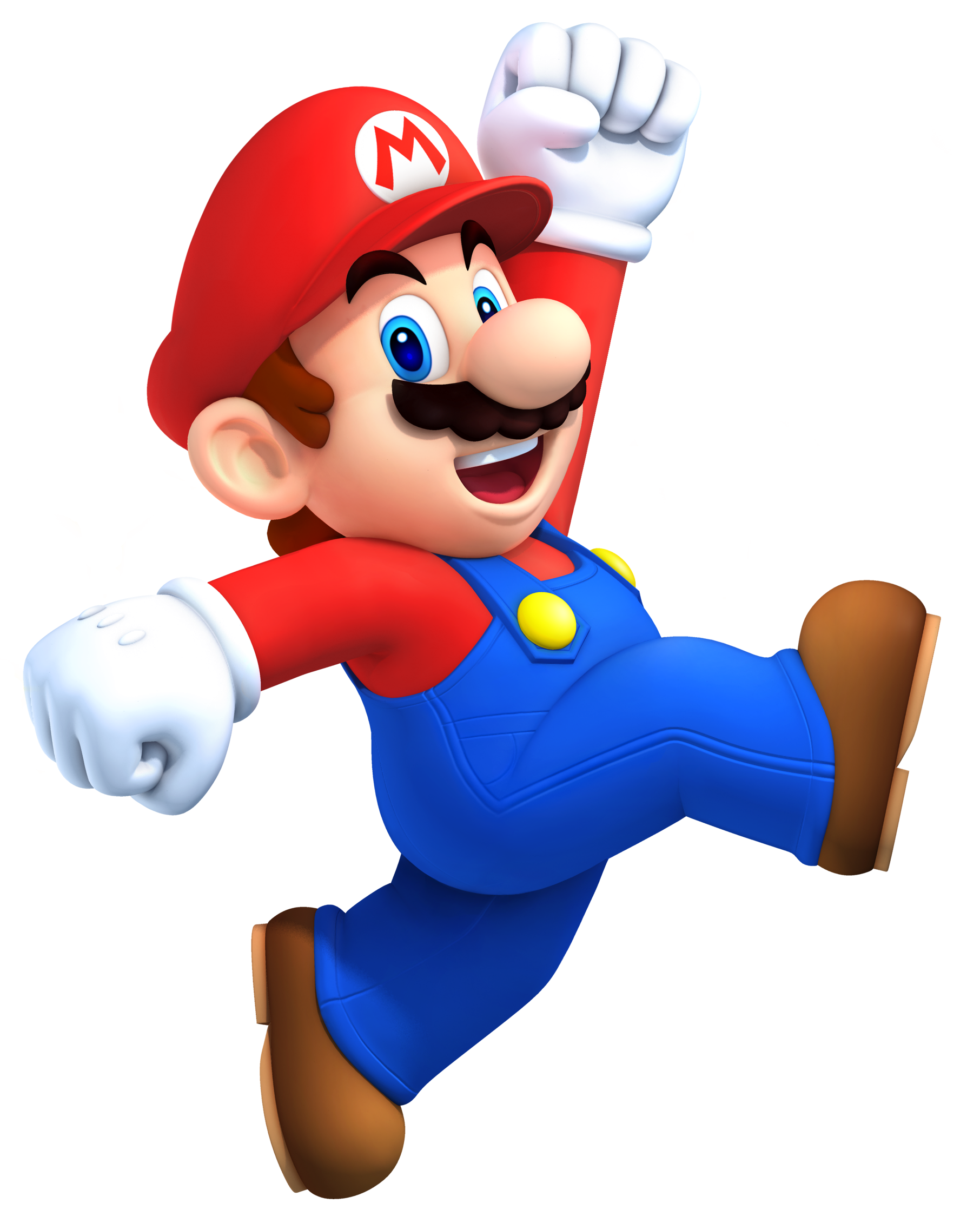 mario super Transparent Background