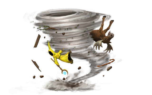 Nature People And Tornado Clipart image #47569