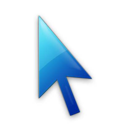 078495 blue jelly icon business cursor