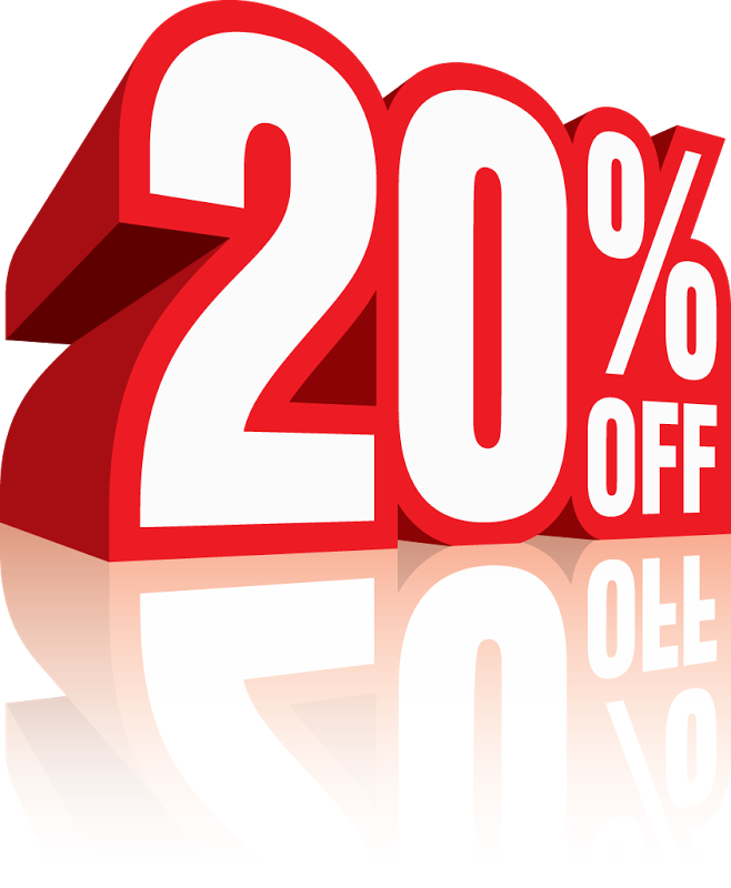 20% Off Png image #37381