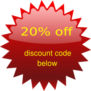 20% Off Png image #37397